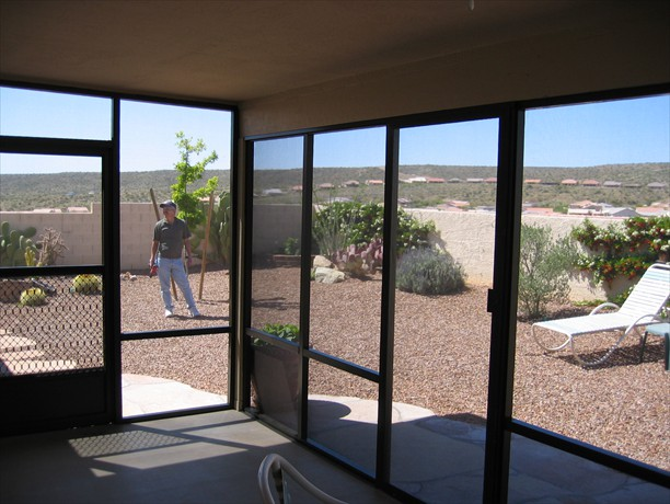Sliding door & swinging door