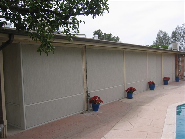 Stucco screens